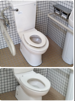 トイレ, 室内, 浴室, 物体 が含まれている画像  自動的に生成された説明