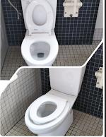 トイレ, 物体, 室内, 浴室 が含まれている画像  自動的に生成された説明