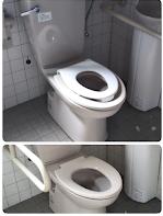 トイレ, 物体, 室内, 壁 が含まれている画像  自動的に生成された説明